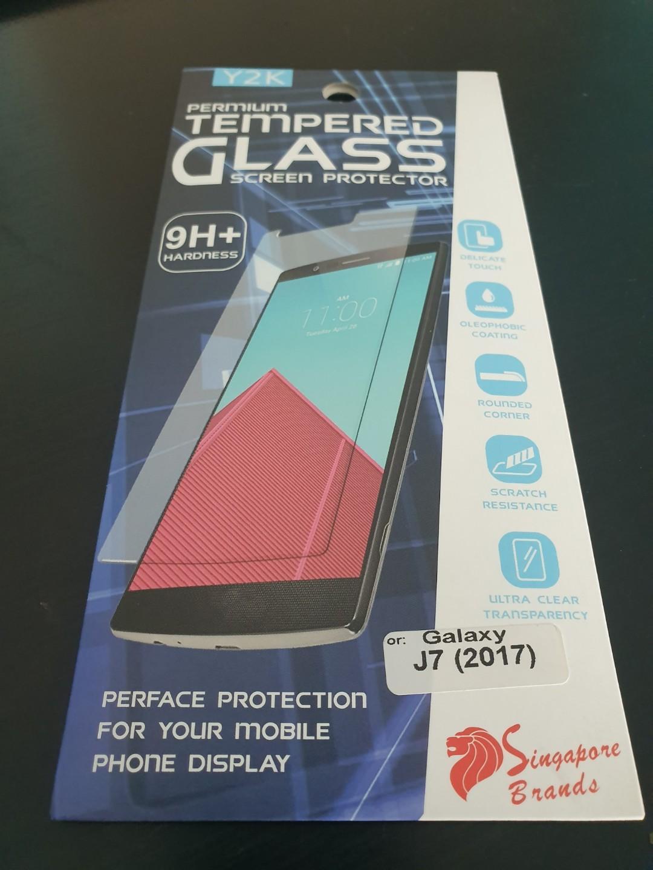 Samsung J7 Premium Tempered Class Protector