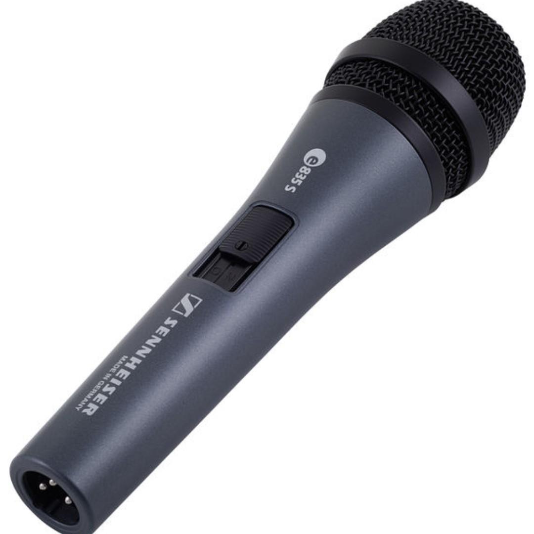 SENNHEISER E835S DYNAMIC VOCAL MICROPHONE 咪 錄音咪 專業人聲麥克風 動圈拾音 MIC 適合各種人聲