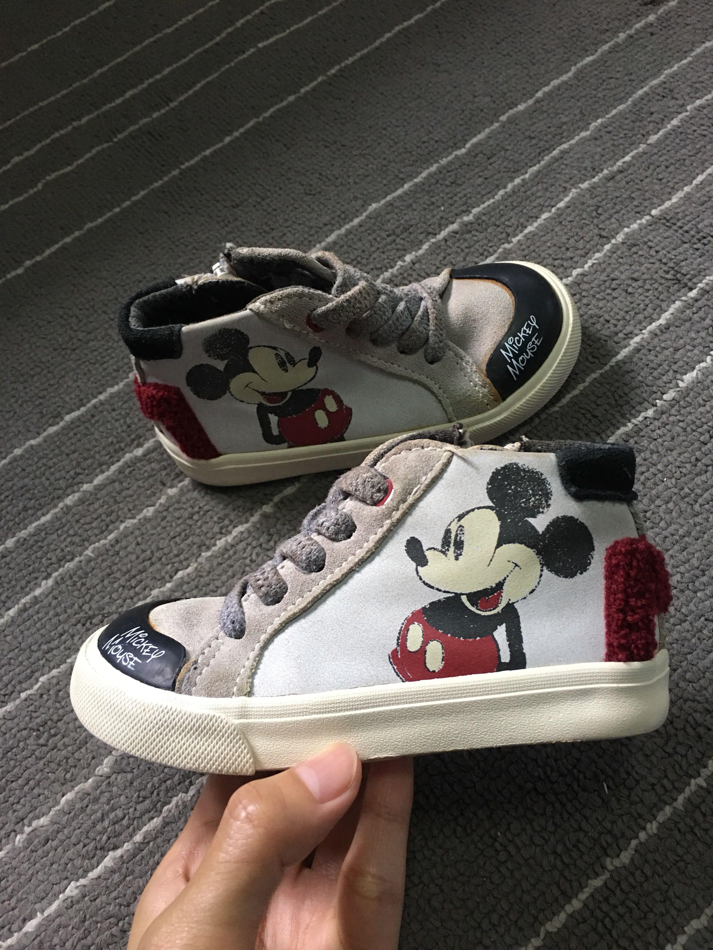 Sepatu Mickey Mouse Zara Original Size 23 Babies Kids Others