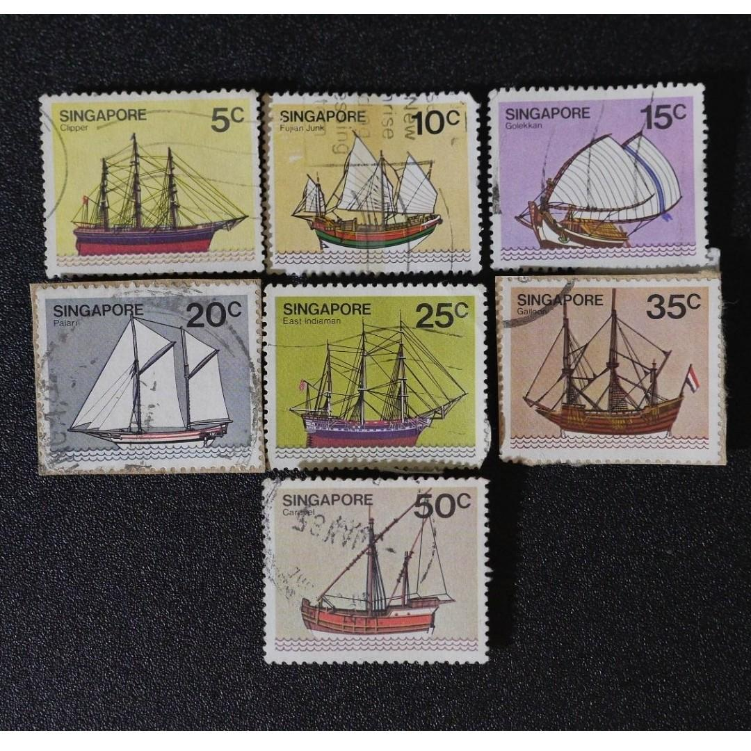 Singapore Stamp / Stamps - Ships 1980