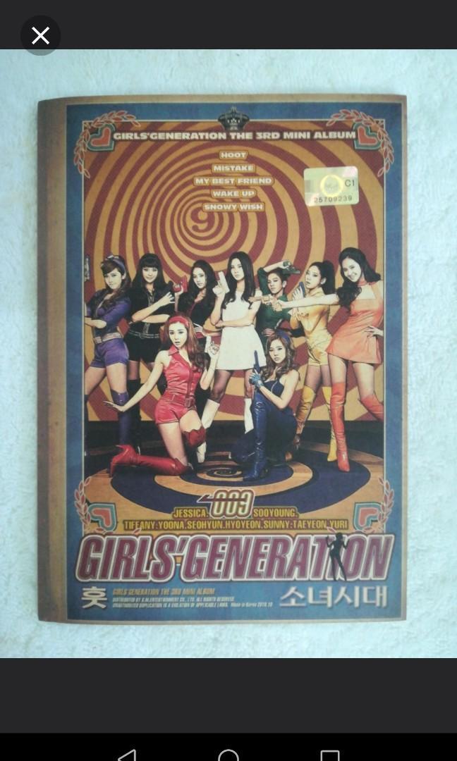 SNSD ALBUM - Girls Generation - 3rd Mini Album - Hoot - 009 - Jessica