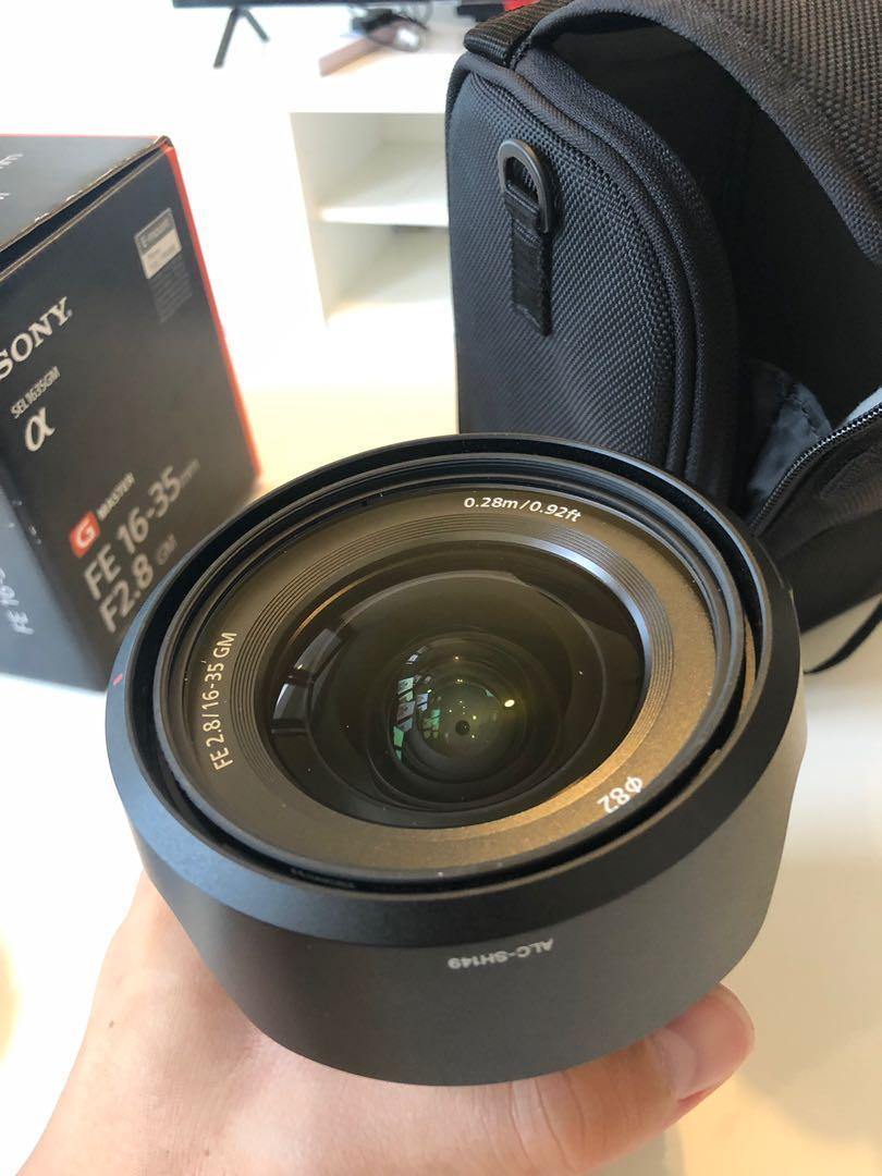 Sony 16-35 f2.8 G Master