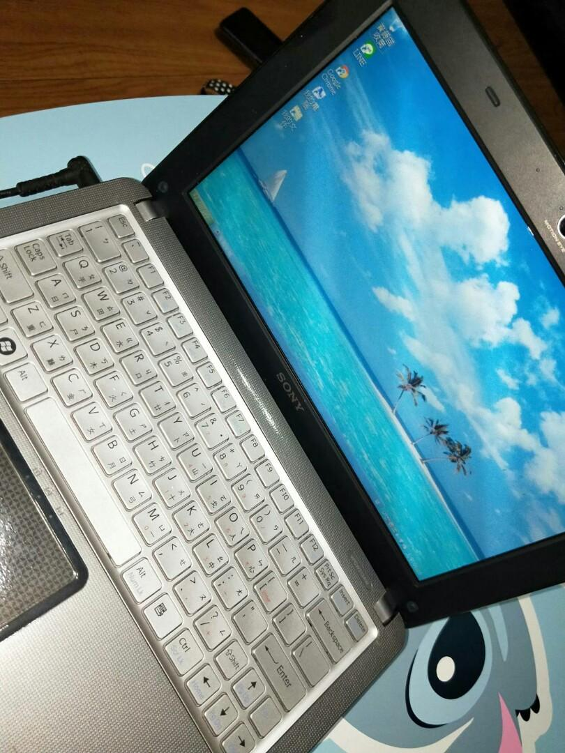 SONY VAIO PCG-21213P 10.1吋 N450 1.66Ghz 1G  輕型筆電