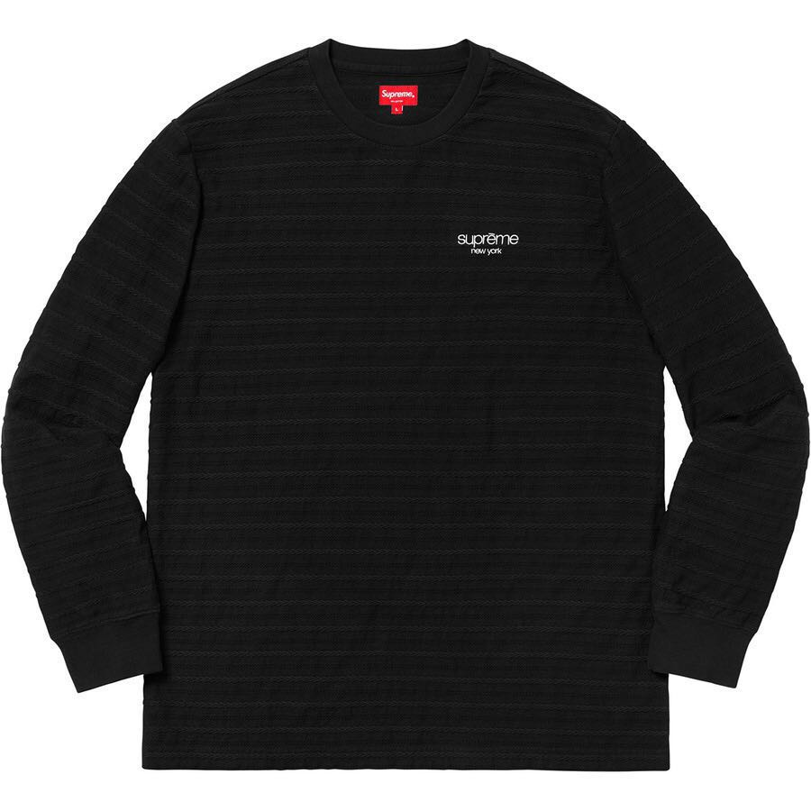 2229c27d1aaf Supreme Rope Stripe Long Sleeve, Men's Fashion, Clothes, Tops on ...