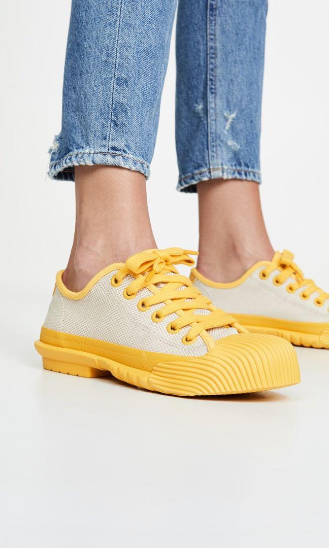 Tory Burch Off White/Limone Sneakers