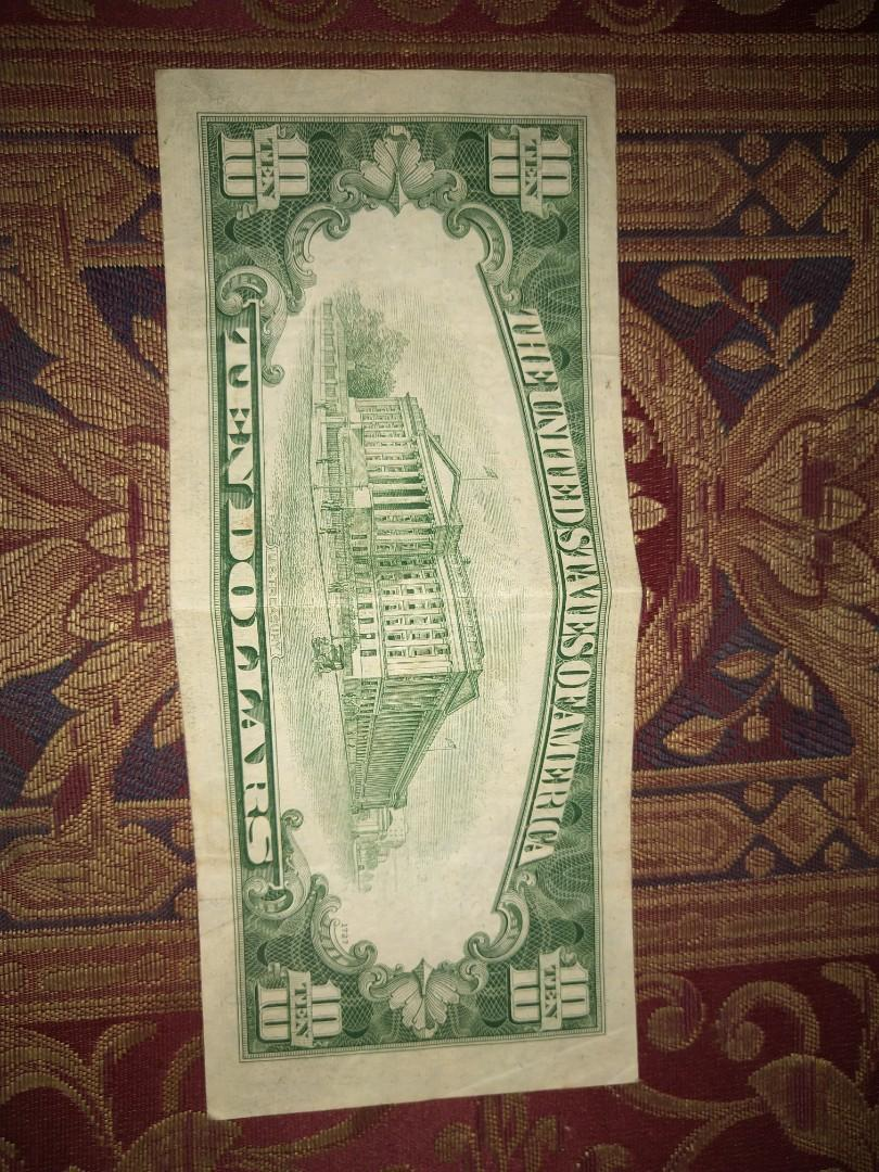 Usa 10 dollar (1950)