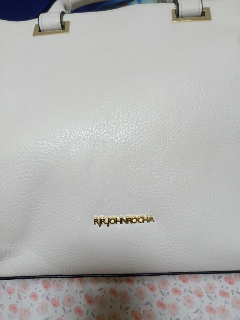 White color bag very nice, good condition use only once a time in oveses bought from London very soft material Reduced price