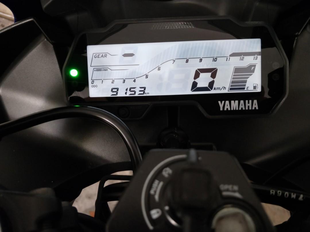 Yamaha R15 v3 2018 (COE 2028), Motorbikes, Motorbikes for