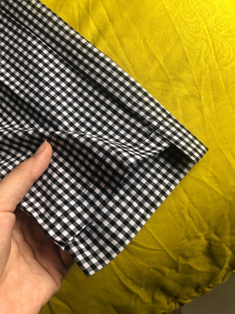 Zara checkerboard pants