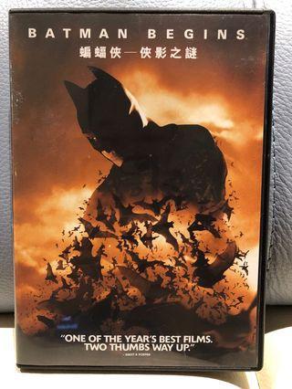 DC Batman Begins 蝙蝠俠-俠影之謎 DVD