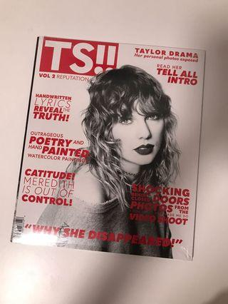 🚚 Taylor Swift Reputation magazine (target exclusive)