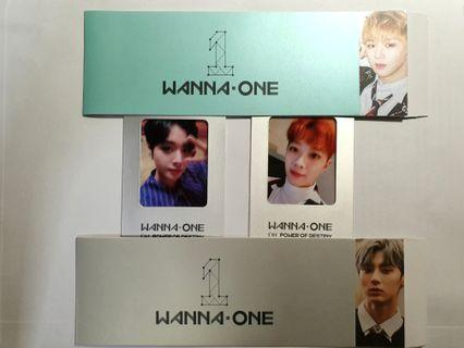 🚚 [WTT] Wanna One POD PC/Sleeves