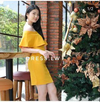 Dress Sabrina Yellow
