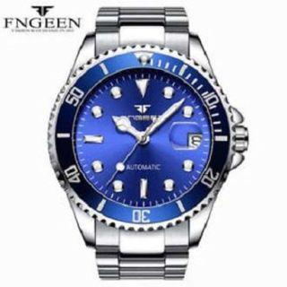 FNGEEN Mechanical luxury watch Men Waterproof Automatic Watch Male Clock Auto Date Luxury Men's Watch Luminous designer watches
