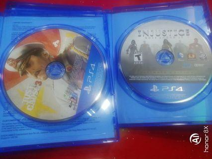 PS4 just cause 3 + injustice 1