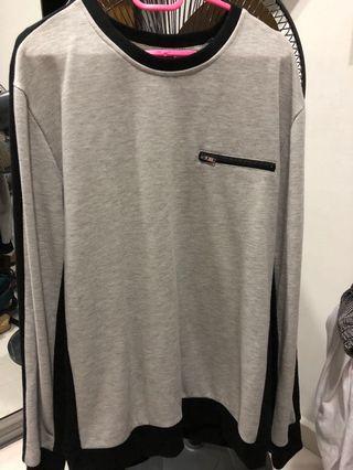 🚚 forever 21 men grey sweater
