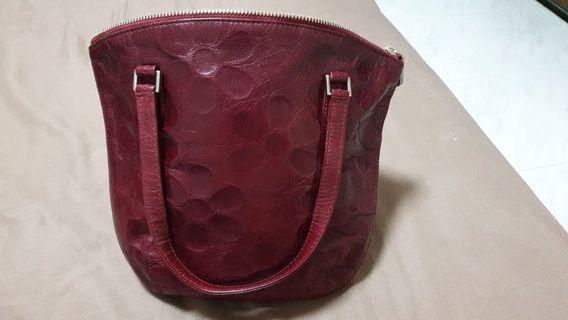 Pierre Cardin Red Handbag - Authentic