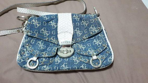 Guess - Authentic (Blue Handbag)