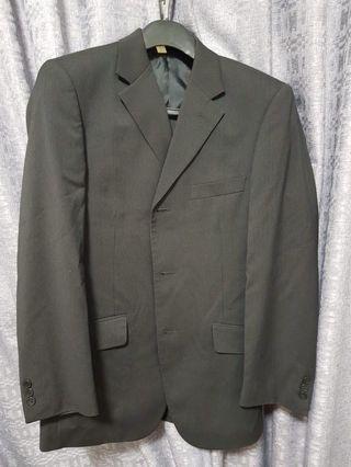 G2000 black mens jacket blazer pants suit