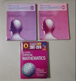 Discovering Mathematics 4A & 4B /O Level Topical Maths