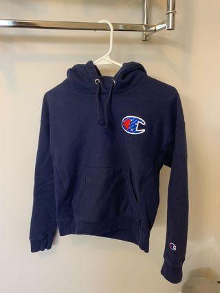 Cropped Champion Reverse Weave Hoodie