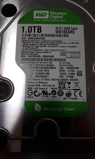 Hard disk for computer