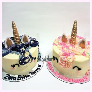 Custom Unicorn Cake