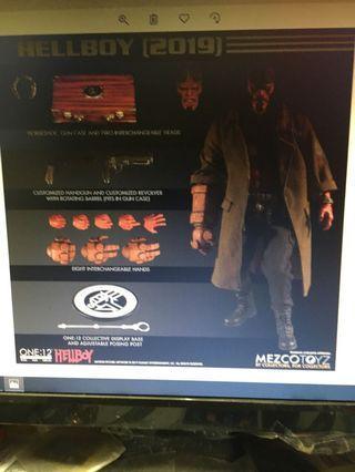 預訂2月Mezco~One- 12 Collective Hellboy