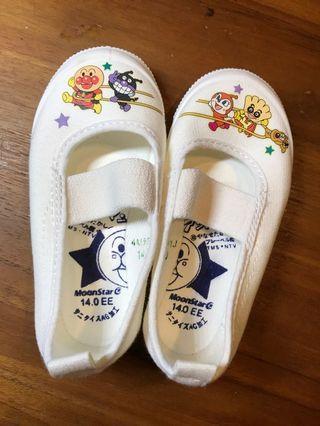 🚚 日本製 Moonstar麵包超人幼兒室內鞋