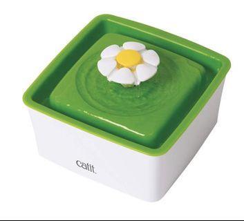 CatIt C43735W 方型花花迷你噴泉飲水機 1.5L