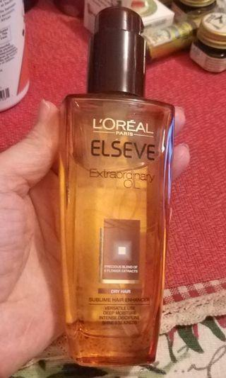 L'Oreal Paris Elseve Extraordinary Oil 護髮油 100mg
