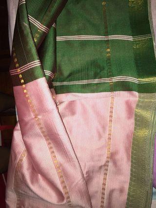Kain pasang saree 4 meter ! #SNAPENDGAME