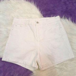 Hotpants Hot Pants Shorts Celana Pendek Putih White
