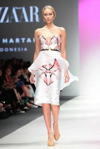 Peggy Hartanto Floral Dress