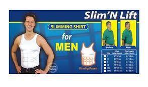 L Size Black Slimming Shirt