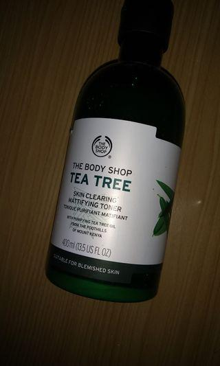 bodyshop tea tree toner