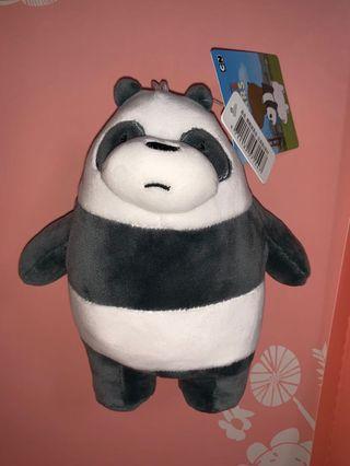 熊熊遇見你 熊貓玩偶站姿6英吋 we bare bears