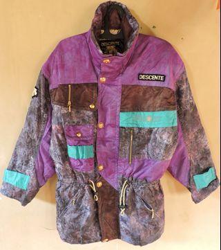 Authentic DESCENTE Jacket Jaket Branded Original Import
