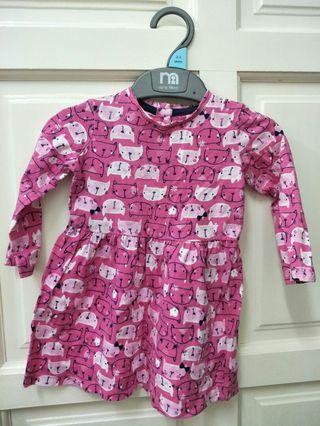 Mothercare (cotton) Dress (6-9months)