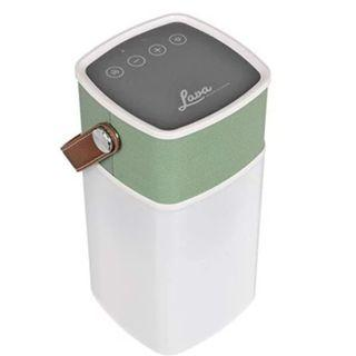 (E1088) Lava BrightSounds 2 | Portable Bluetooth Speaker with Dimmer Controlled Lantern, Powerbank for Phone/Tablet Charging & Battery life up to 36hrs - Green