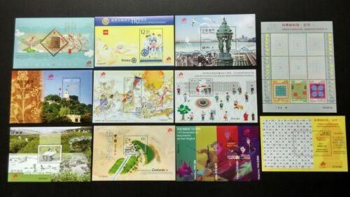 2015 China Macau Goat, Literature 九歌, Rotary, Lighthouse, Heritage, Total 11 SS