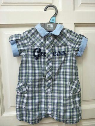 Baby Guess (soft cotton) jumpsuit (3-6months)