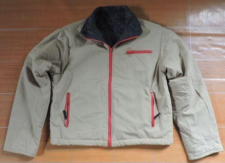Authentic STEPPE UNION LABEL Reversible Sherpa Jacket