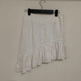 二手-韓國白色短裙