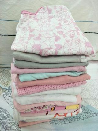 Baby (Short Sleeves Top) 9-12months. (16pcs)
