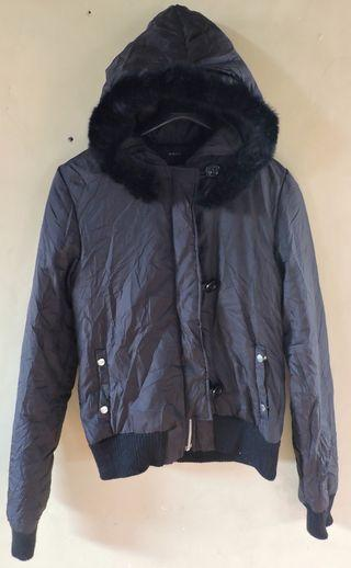 Authentic BDONNA Faux Fur Hooded Jacket