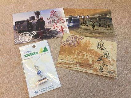 🚚 鐵道百年紀念明信片組