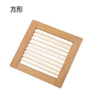 18*18方形竹木隔熱墊