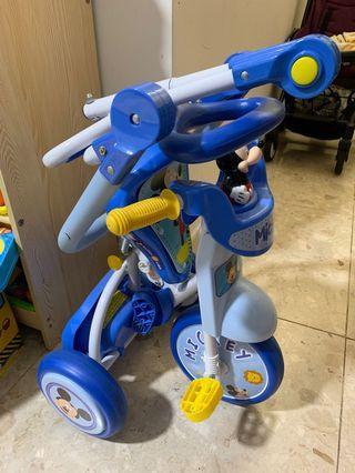 Mickey 米奇可摺疊三輪車/單車