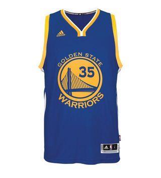 Jordan Rider 喬丹騎士 adidas NBA Swingman Jersey Golden State Warriors Kevin Durant 35 金州勇士隊 杜蘭特 客場球衣 藍色 KD